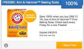 FREE Arm & Hammer Baking Soda