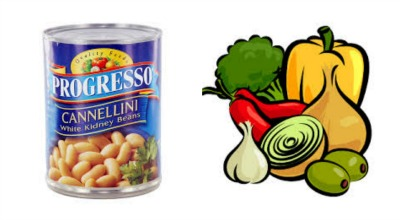 beans and veggies