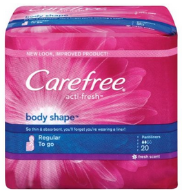 Carefree Liners Only $0.54 at Walgreens