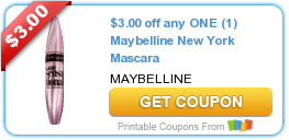 picture relating to Maybelline Coupons Printable identify Fresh new Printable Coupon: $3.00 off any 1 (1) Maybelline Refreshing