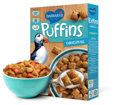 Barbara's Puffins Cereal Only $1.05 at Target