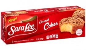 Sara Lee Snack Cakes Only $1.00 at Target