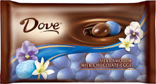dove chocolate eggs