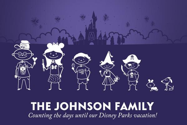 HURRY!  It's Back! FREE Disney Stick Figures Family Decal!