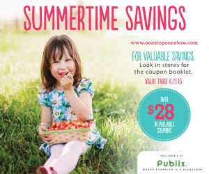 Summertime Savings Publix Coupon Booklet PRINTABLE NOW TOO!
