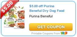 Printable Coupn For Beneful Dry Dog Food