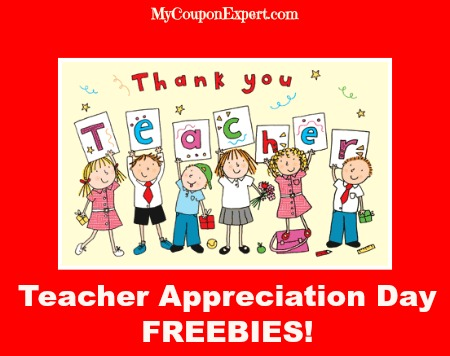 Teacher Appreciation Day FREEBIES!!