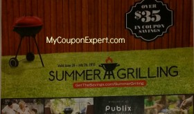 NEW Publix Coupon Booklet!  SUMMER GRILLING!  Printable too!