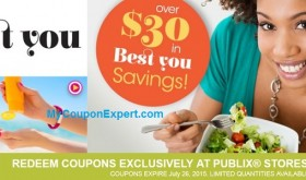 NEW Publix Coupon Booklet!  Be the Best You!  Printable too!