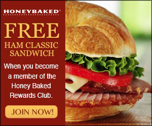 free honey baked ham