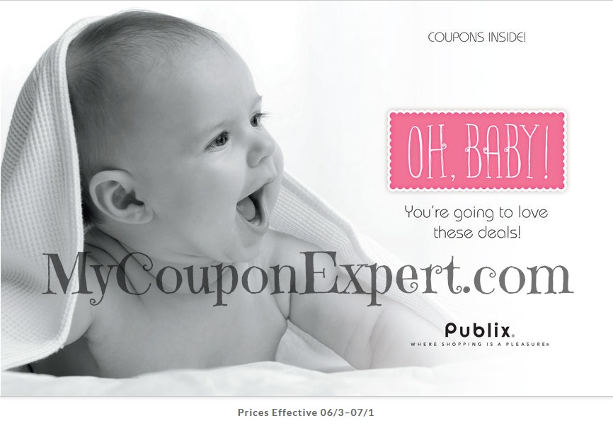 New Coupon Booklet: Publix Oh, Baby! Coupon Booklet