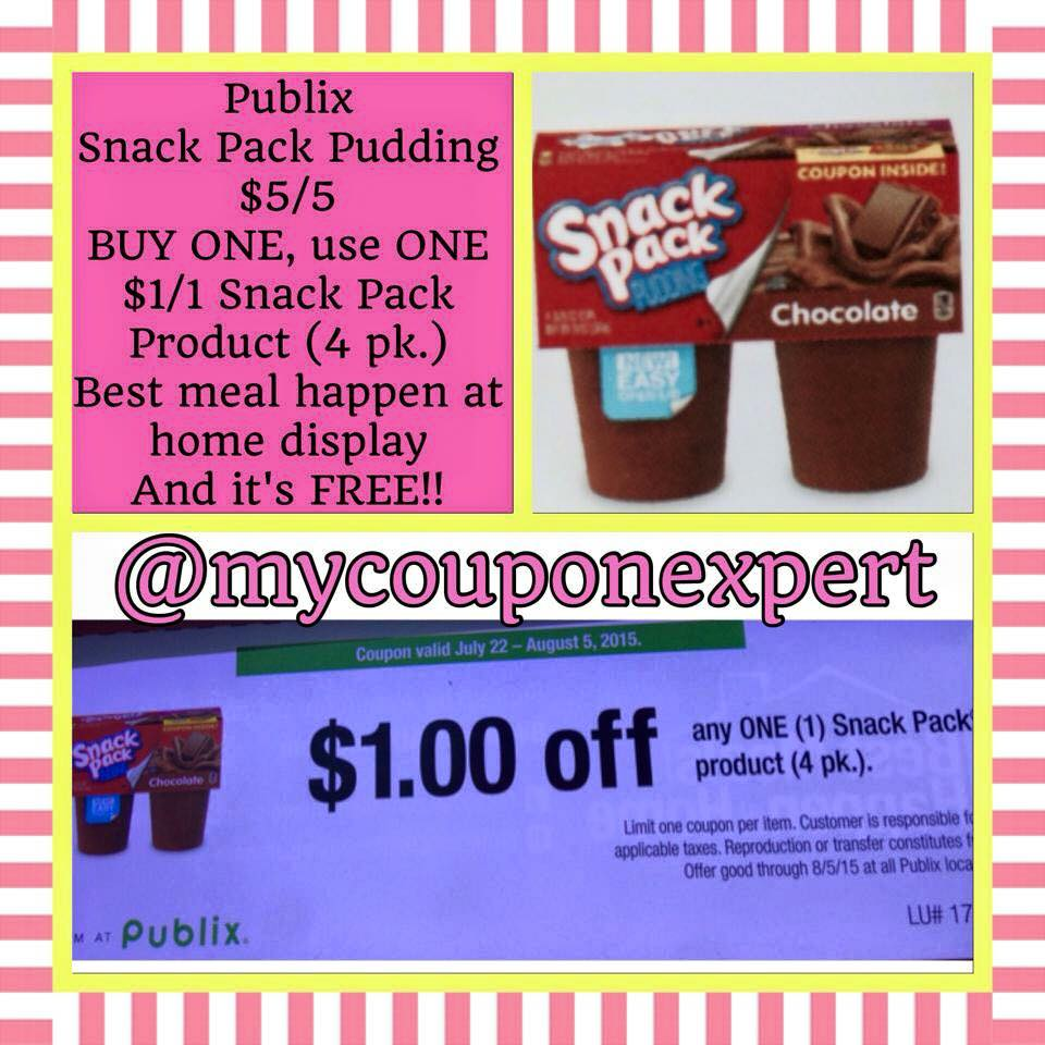 Snack pack coupons