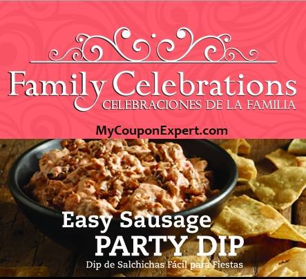 Family Celebrations Publix Coupon Booklet + Printables!!