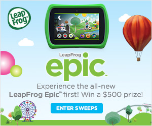 LeapFrog Epic $500 Prize Pack Sweepstakes