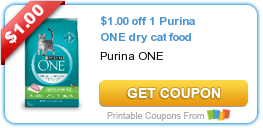 photograph relating to Purina One Printable Coupon named Sizzling Fresh new Printable Coupon: $1.00 off 1 Purina A person dry cat foods ·