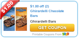 graphic relating to Ghirardelli Printable Coupon named Incredibly hot Fresh new Printable Coupon: $1.00 off (2) Ghirardelli