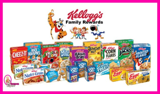 Sign up with Kellogg's Family Rewards for High Value Coupons!