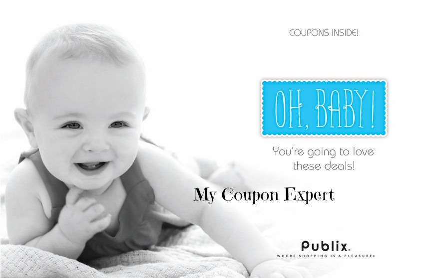 New Publix Coupon Booklet: Oh, Baby! + Printables!!
