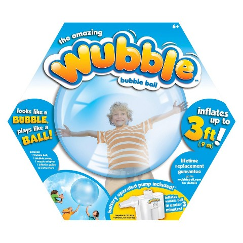 Target 50% off Toy deal for 11/12 – Original Blue Wubble Bubble Ball Only $5.00