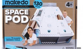 Target 50% off Toy Deal for 11/18 – Makedo Find & Make Space Pod Only $29.99
