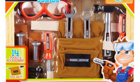 Target 50% off Toy Deal for 11/24 – Black & Decker Jr. Tool Belt Set Only $4.15!!!!