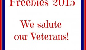 Veterans Day Freebies 2015 – We Salute Our Veterans