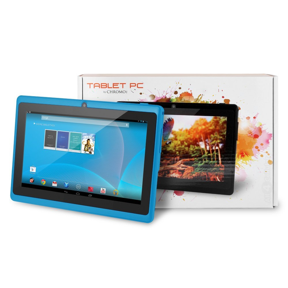 Chromo Inc 7 inch HD Touchscreen Android Tablet Only $43.99 – 74% Savings!!