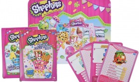Shopkins Top Trumps Collectors Tin (LOTS Included) Only $8.89 – 72% Savings