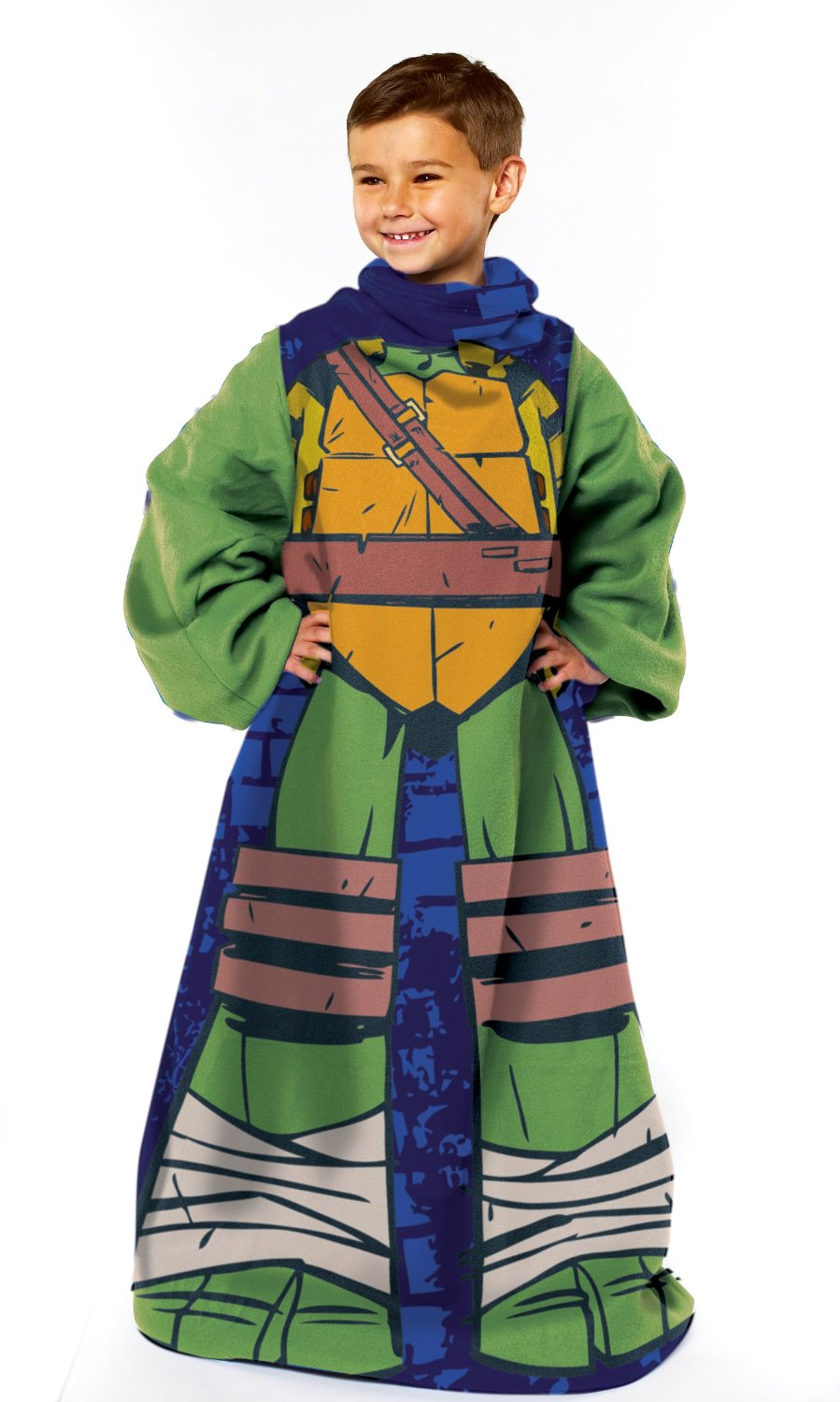 """TMNT """"Being Leo"""" Youth Comfy Throw Only $8.77 – 63% Savings!"""