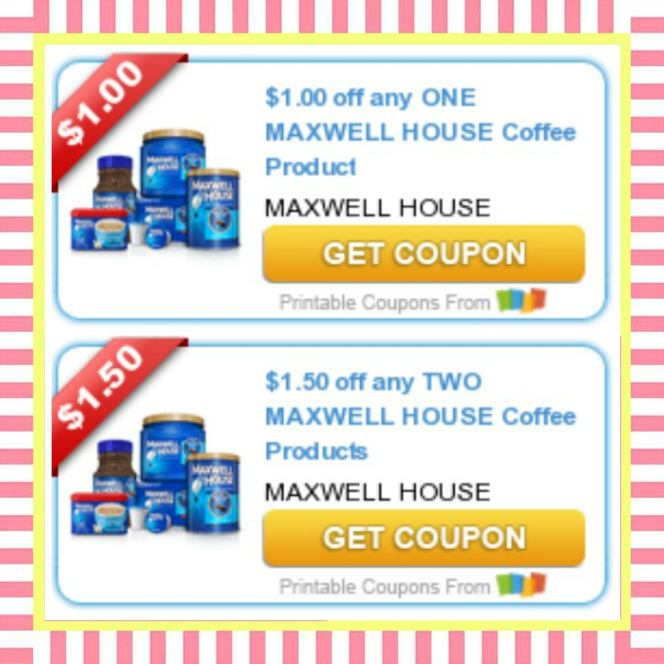 photo about Printable Coffee Coupons named Incredibly hot Printable Maxwell Dwelling Discount codes \u003d PRINT Previously! ·