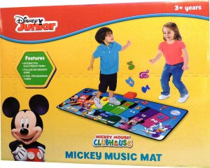 mickey music mat