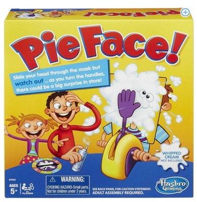 PIE FACE GAME only $14.88 and in stock!  HURRY!!