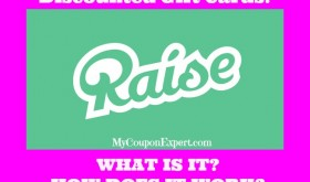 AWESOME discounted Gift Cards through Raise!  THIS IS HUGE!!