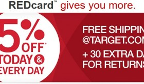 Get the Target Red Card FREE, no credit check for debit!
