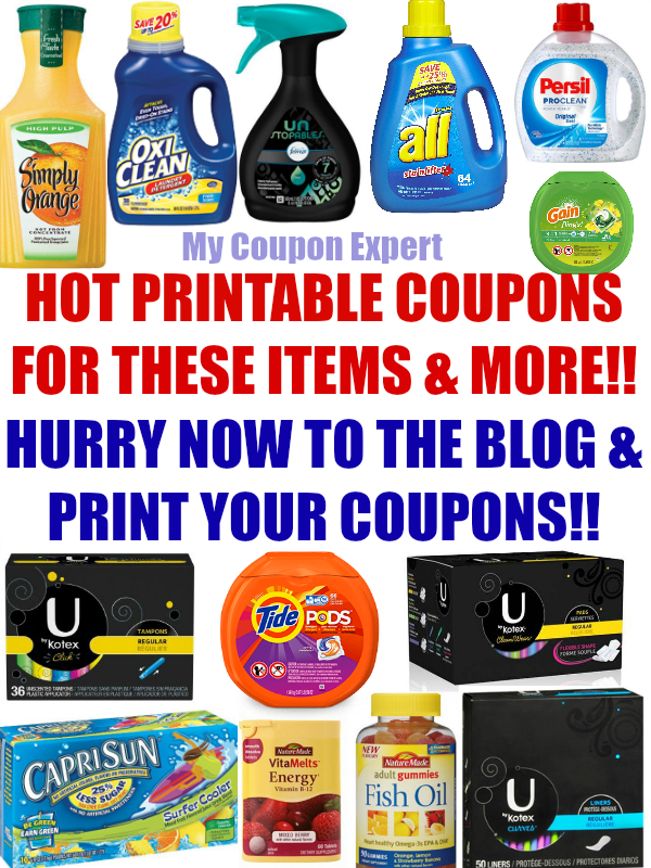 photo regarding Nature Made Printable Coupons referred to as Sizzling Printable Discount codes: Tide, Financial gain, Kotex, Capri Sunlight, Character