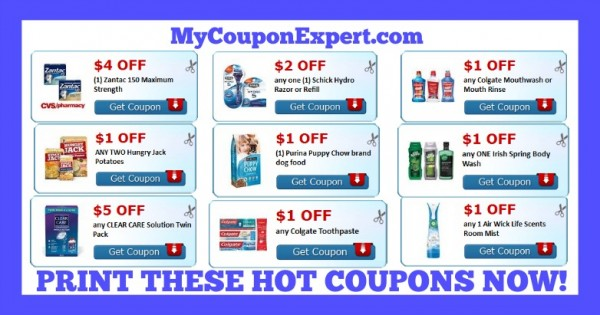image relating to Colgate Printable Coupons known as Print All those ASAP!! Very hot Clean Printable Discount coupons: Purina, Schick