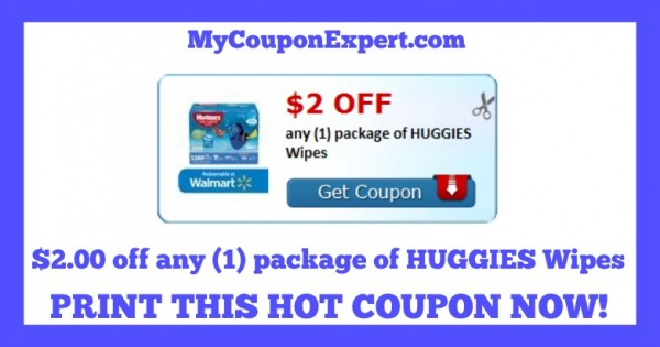 photo relating to Huggies Wipes Coupon Printable referred to as Keep track of it out! Scorching Contemporary Printable Coupon: $2.00 off any (1