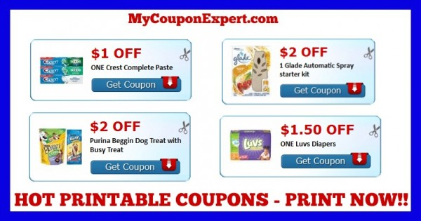 graphic relating to Crest Printable Coupons identified as Verify Those Discount coupons Out Print Presently!! Crest, Glade, Alpo