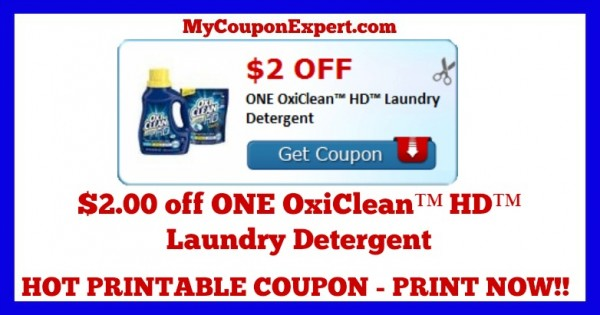photograph relating to Oxiclean Printable Coupon referred to as Monitor This Coupon Out Print Presently!! $2.00 off A single OxiClean