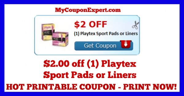 Playtex tampons coupons