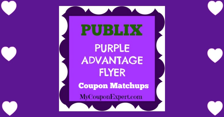 Publix Purple Flyer Matchups April 20th – May 3rd!