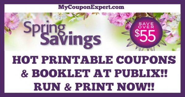 Spring Savings Coupon Booklet and Printable Coupons