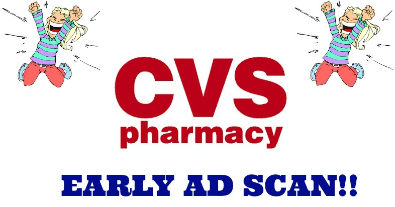 CVS early ad scan