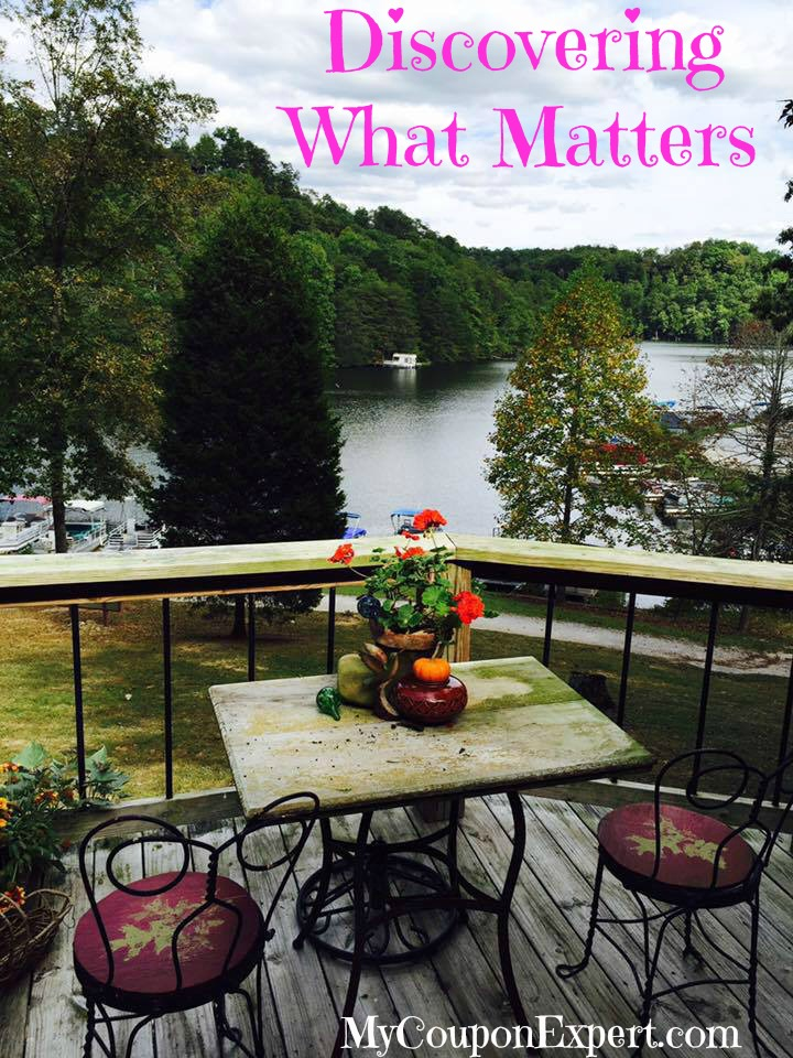 Daily Dose of Inspiration:  Discovering What Matters