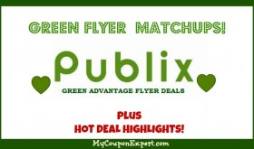 Publix GREEN Flyer Deals July 22nd – August 4th!!