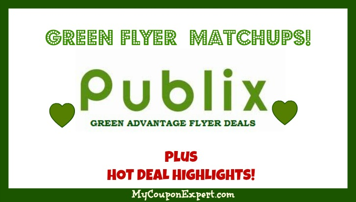 Publix GREEN Advantage Flyer July 9th – July 29th!!