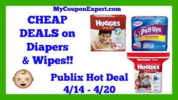Huggies Diaper and Wipes Publix Deal