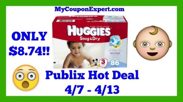 Publix Hot Deal Alert! Huggies Diapers Only $8.74 Starting