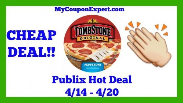Tombstone Pizza Publix Deal