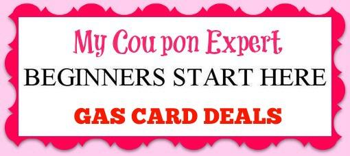 beginners start here Gas Card Deals